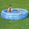 Бассейн Deluxe Crystal Pool, семейный, BESTWAY