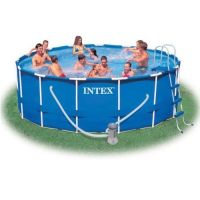 Бассейн каркасный Metal Frame Pool (457х122 см), INTEX
