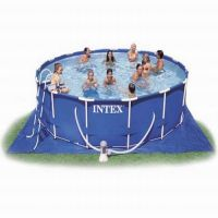 Бассейн каркасный Metal Frame Pool (457x91 см), INTEX