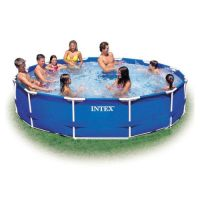 Бассейн каркасный Metal Frame Pool (366x76 см), INTEX