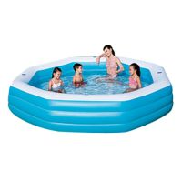 Бассейн Deluxe Octagon Family Pool, BESTWAY