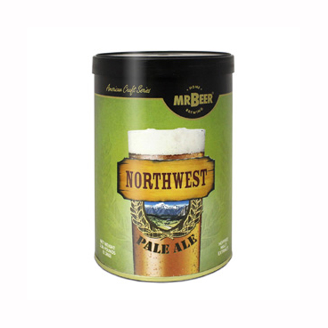 Пивная смесь Mr.Beer Northwest Pale Ale PREMIUM,  1.3 кг